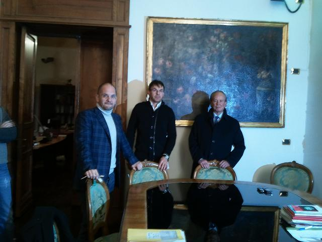 Da sinsitra: Castelli, Palatroni, Benigni