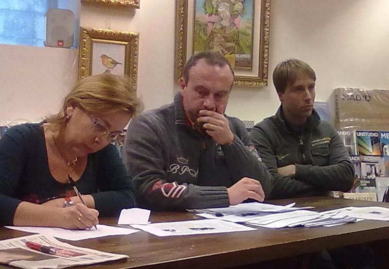 Valentina Bellini (Pd), Marco Regnicoli (L'Alveare), Stefano Corradetti (Pd)