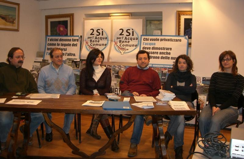 Mario Carini, Gianfranco Marinelli, Diana Piotti (Luoghi comuni), Nazzareno Mosca (Gas Gasper), Ilenia Cipollini (Ascoliequoesolidale), Luisa Cannavicci (Blob)