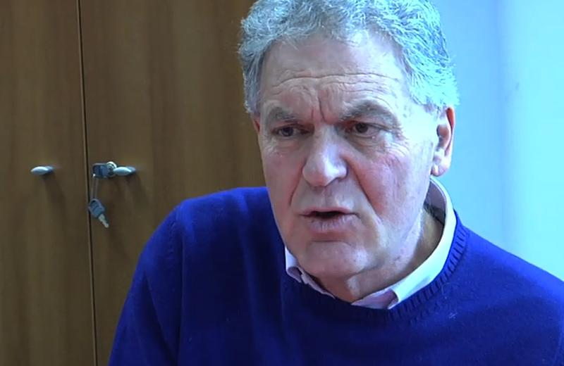 Piero Celani, presidente della Provincia di Ascoli