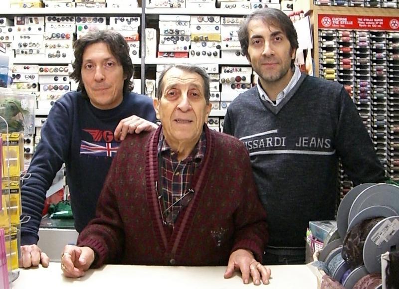 Franco, Lolò ed Enzo Bruni