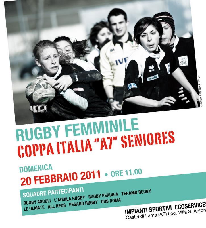 Locandina della settima giornata della Coppa Italia Rugby 7