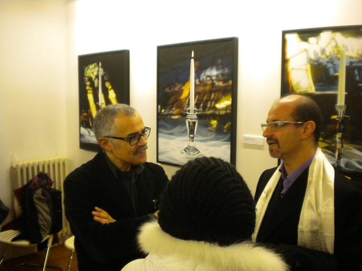 Antonio Barrella (a sinistra) con Giuseppe Di Caro