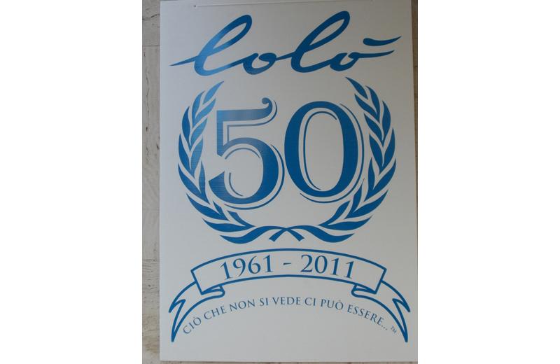 Lolò: manifesto per i 50 anni