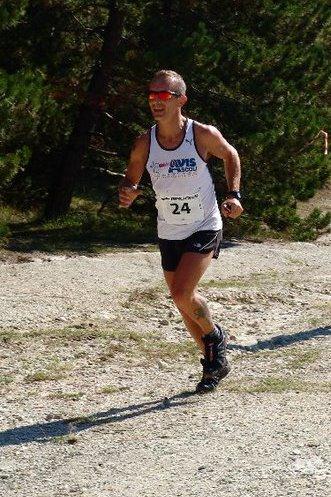 Marco Marini al Trail Colle San Marco 2011