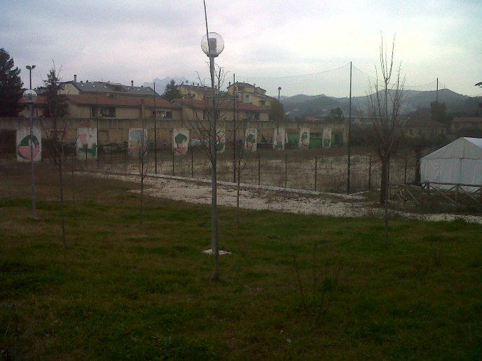 Realizzazione nuovo campo da calcio in zona Tofare