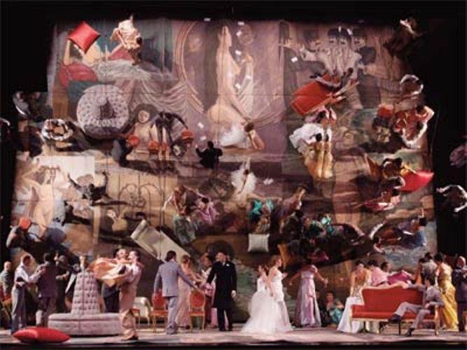 Traviata degli specchi di Josef Svoboda