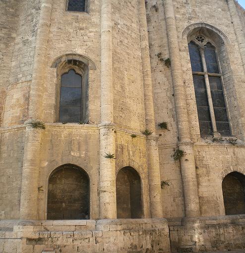 Dettaglio della chiesa di San Francesco