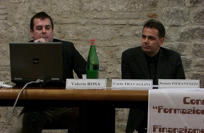 Renato Pierantozzi e Carlo Travaglini