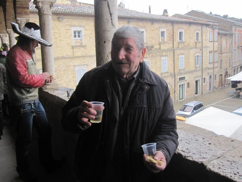Giovedì Grasso a Offida. Vinicio Pasquali dei Musi Neri