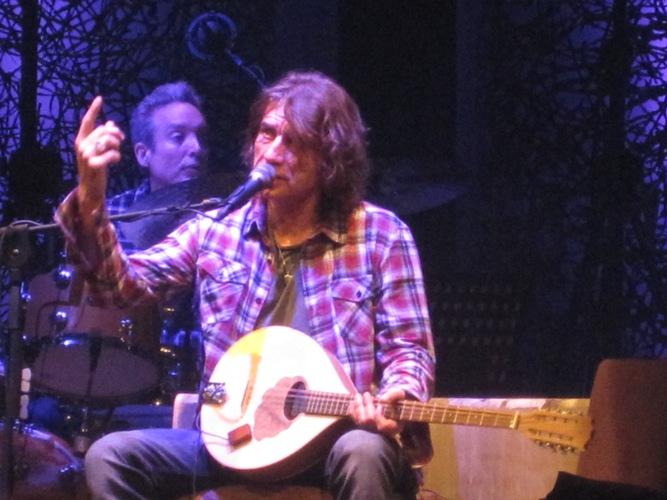 Il cantante Luciano Ligabue al Ventidio Basso