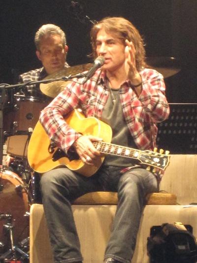 Il cantante Luciano Ligabue