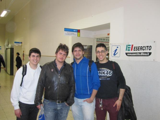 Alcuni dei ragazzi intervistati al Going 2011