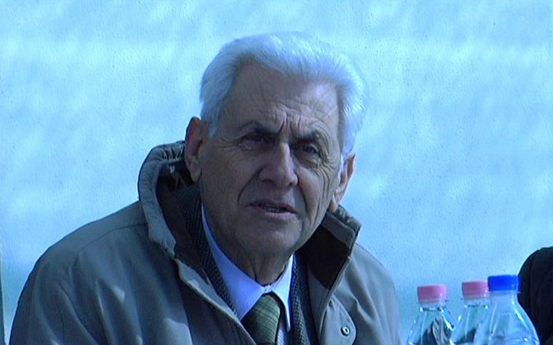 Il sindaco Nazzareno Tacconi di Monsampolo del Tronto