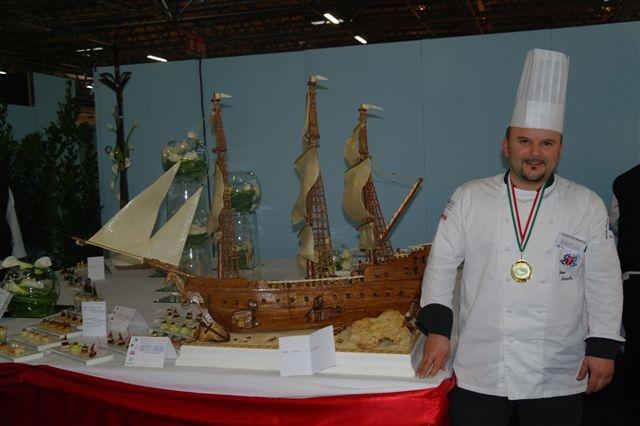 Mauro Michetti e il galeone