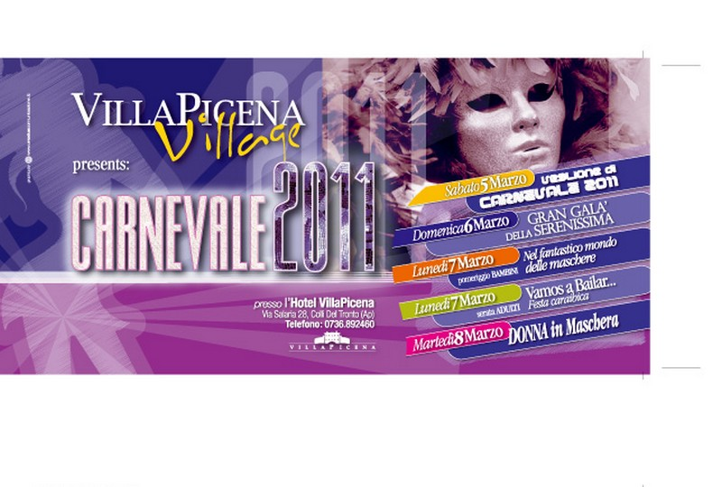 Carnevale al Villa Picena Village