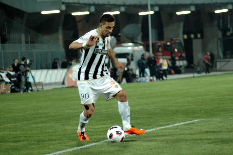 Ascoli-Torino (foto Giammusso): Mendicino in azione