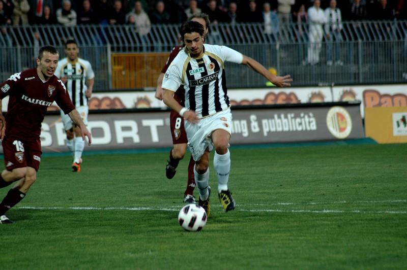 Ascoli-Torino (foto Giammusso): Moretti