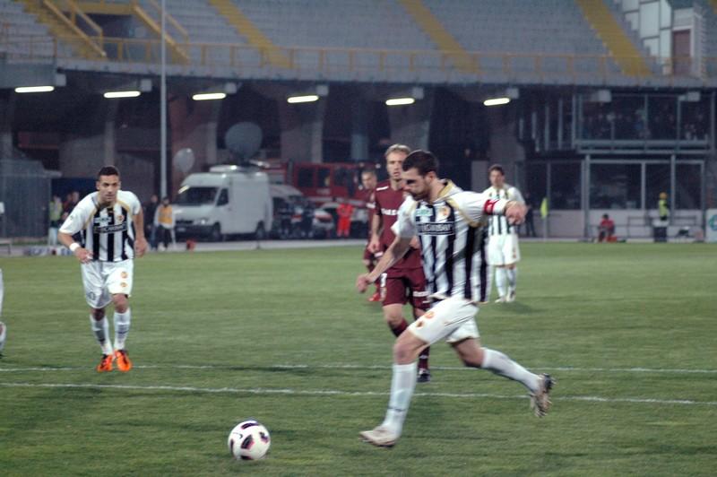 Ascoli-Torino (foto Giammusso): rigore sbagliato da Giorgi
