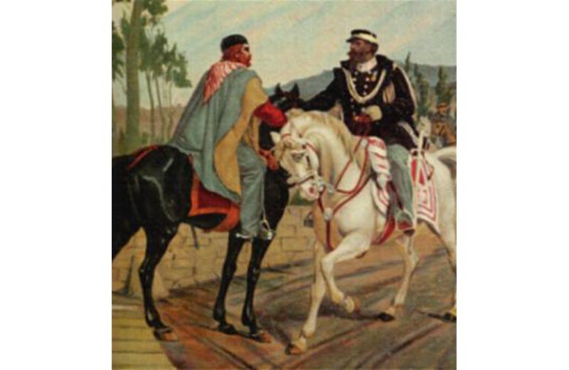 Teano: l'incontro fra Vittorio Emanuele II e Garibaldi