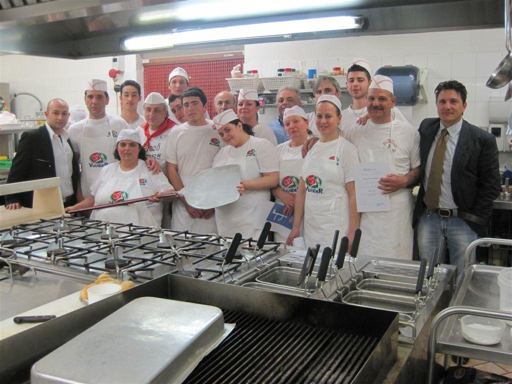 Un corso per pizzaioli, foto di archivio 2011