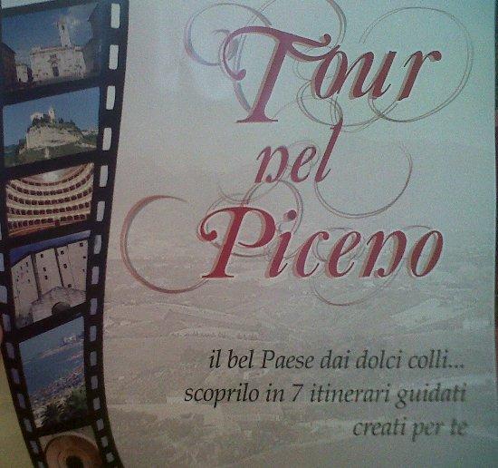 Locandina del progetto Tour nel Piceno