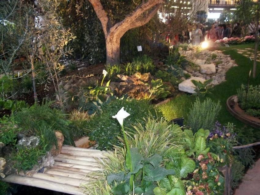 Euroflora, i giardini