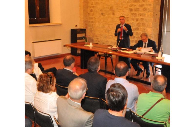 La Regione ad Ascoli: Canzian e Spacca a Palazzo dei Capitani