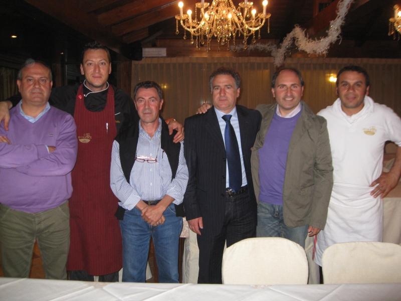 Da sinistra Stefano Salvatori, Nicola Cellini, Noris Rocchi, Angelo Canala, Giulio Ficcadenti e Dino Baldassarri