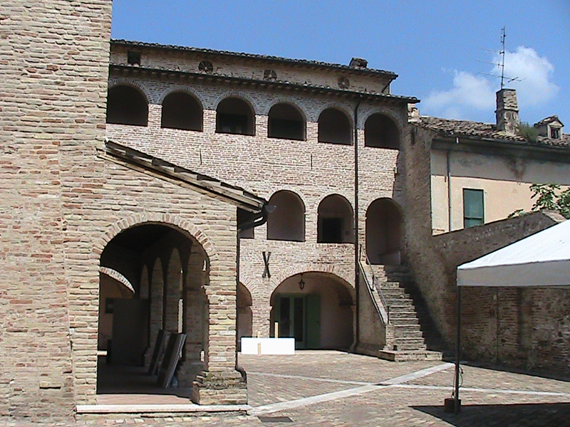 L'ex Convento dei cappuccini in Contrada Vallicella di Colli del Tronto