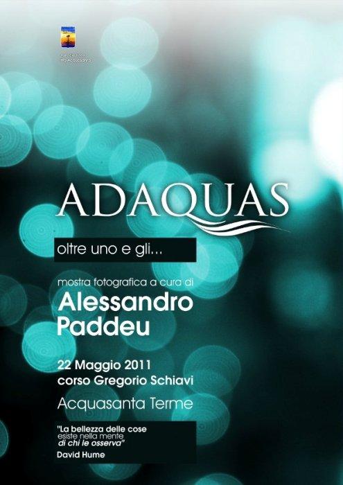 Mostra fotografica Adaquas di Alessandro Paddeu