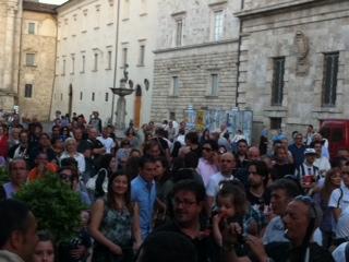 piazza arringo- festa ascoli