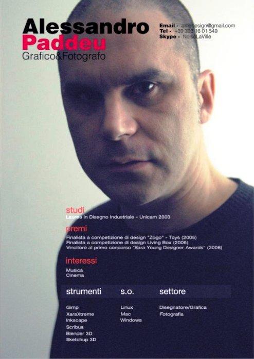 Il fotografo Alessandro Paddeu