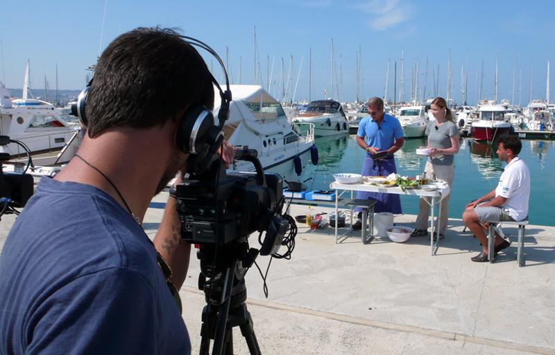 Gambero Rosso Channel registra una puntata al Circolo Nautico