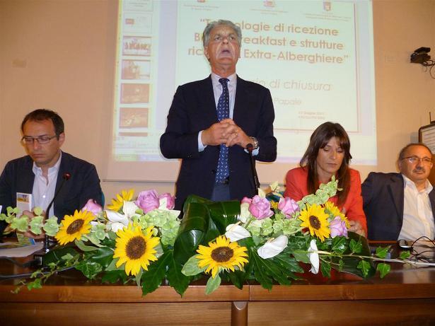 Celani (al centro), Gabrielli, MariaPia Spurio e Petrucci