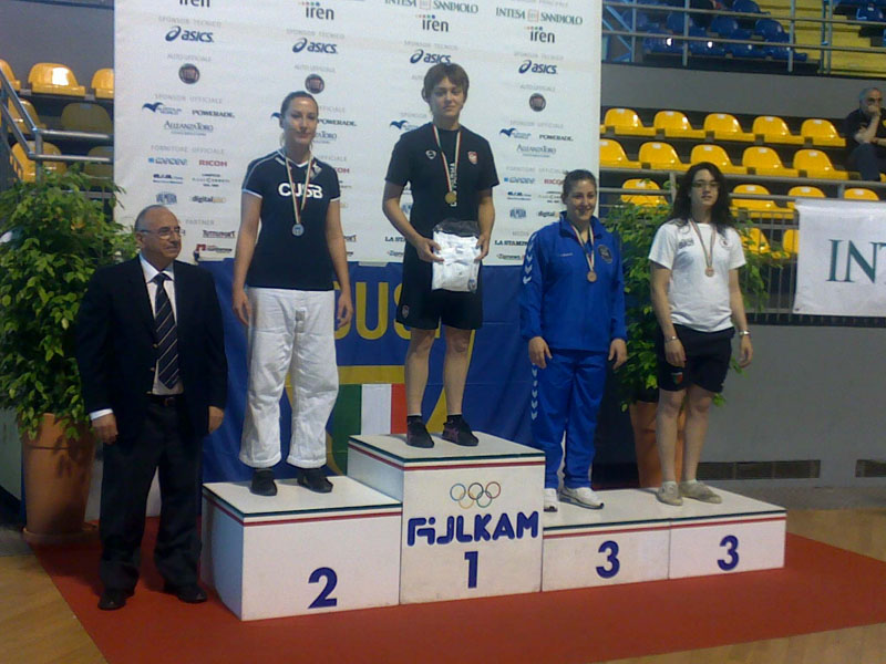 Judo Cento Torri Ascoli, Marta Damiani sul podio