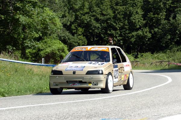 R.SCIAMANNA-PEUGEOT 205 19 GTI (5)CLASS. (foto Troiani)