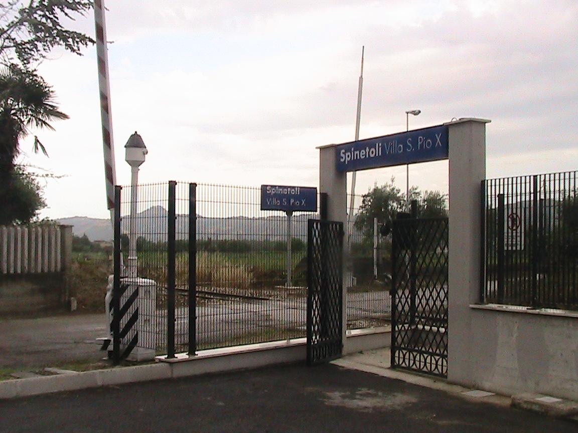 Ferrovia Ascoli-San Benedetto: la nuova Stazione di Villa San Pio X