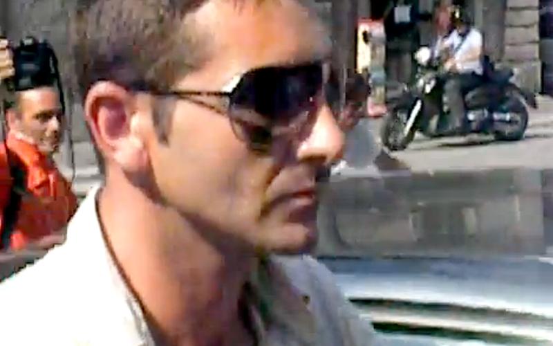 Salvatore Parolisi arriva in procura per l'interrogatorio