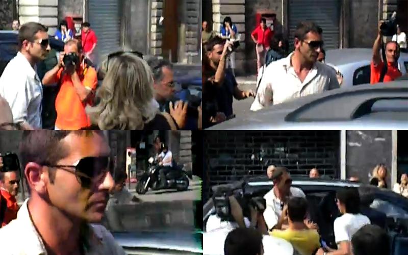 Salvatore Parolisi, ingresso nel Tribunale di Ascoli