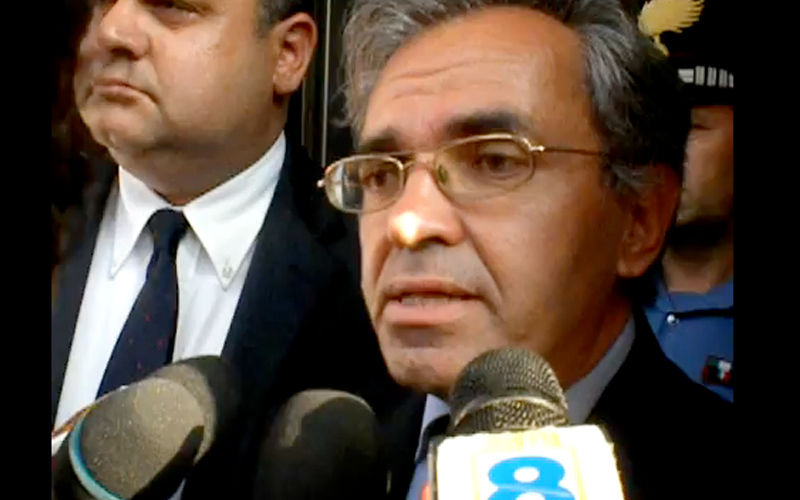 Uno dei due avvocati di Parolisi, Valter Biscotti