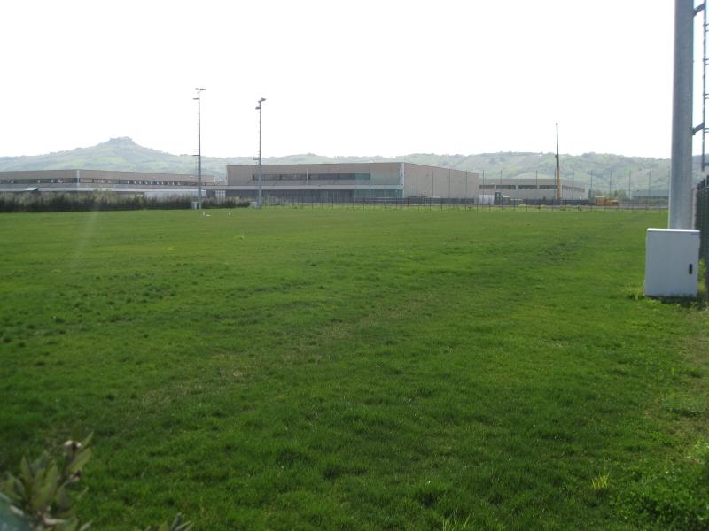 Il campo sportivo di Stella di Monsampolo