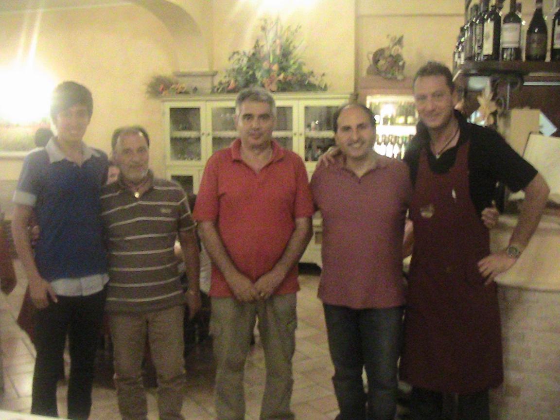 Mauro Ciarma, Severino Lucchetti, Fabrizio Ciarma, Giulio Ficcadenti, Nicola Cellini