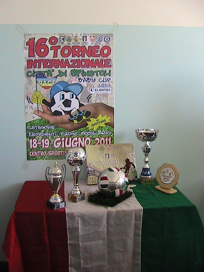 Presentazione 16° torneo internazionale 'Baby Cup' città di Spinetoli 2011