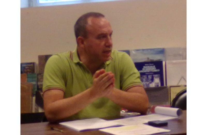 Il consigliere comunale Marco Regnicoli
