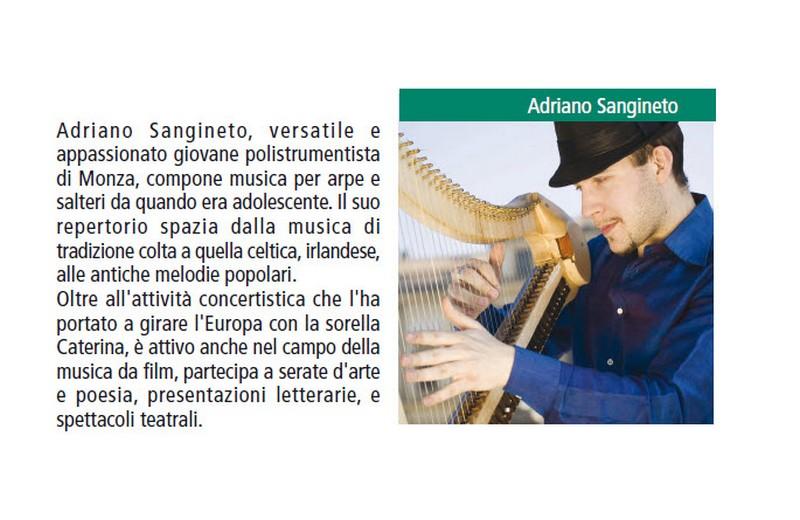 Concerti di arpa a Meschia: un'altra interessantissima giornata del Festival dell'Appennino