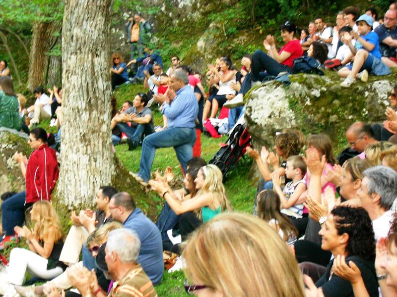 Meschia: gli spettatori dei due concerti di arpa per il Festival dell'Appennino