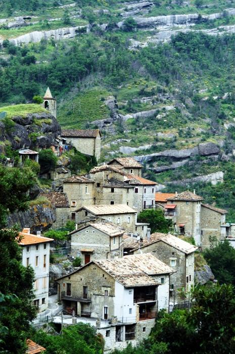 Il borgo di Tallacano (foto di Alessandro Paddeu)