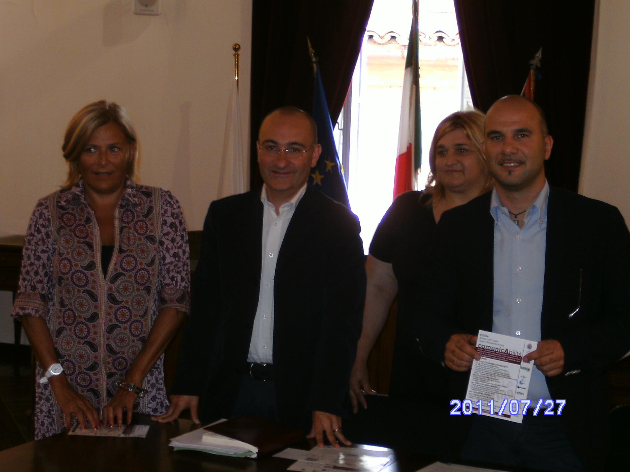 Simona Chiovini, Piero Antimiani, Sonia Marcozzi, Valerio Lucciarini