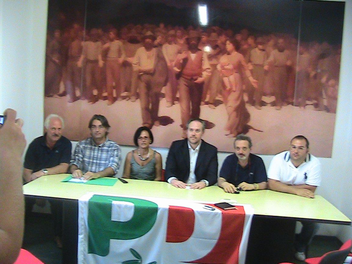 Eugenio Trivelli, Giovanni Borraccini, Anna Casini, Antimo Di Francesco, Alberto Antognozzi, Benedetto Pizioli